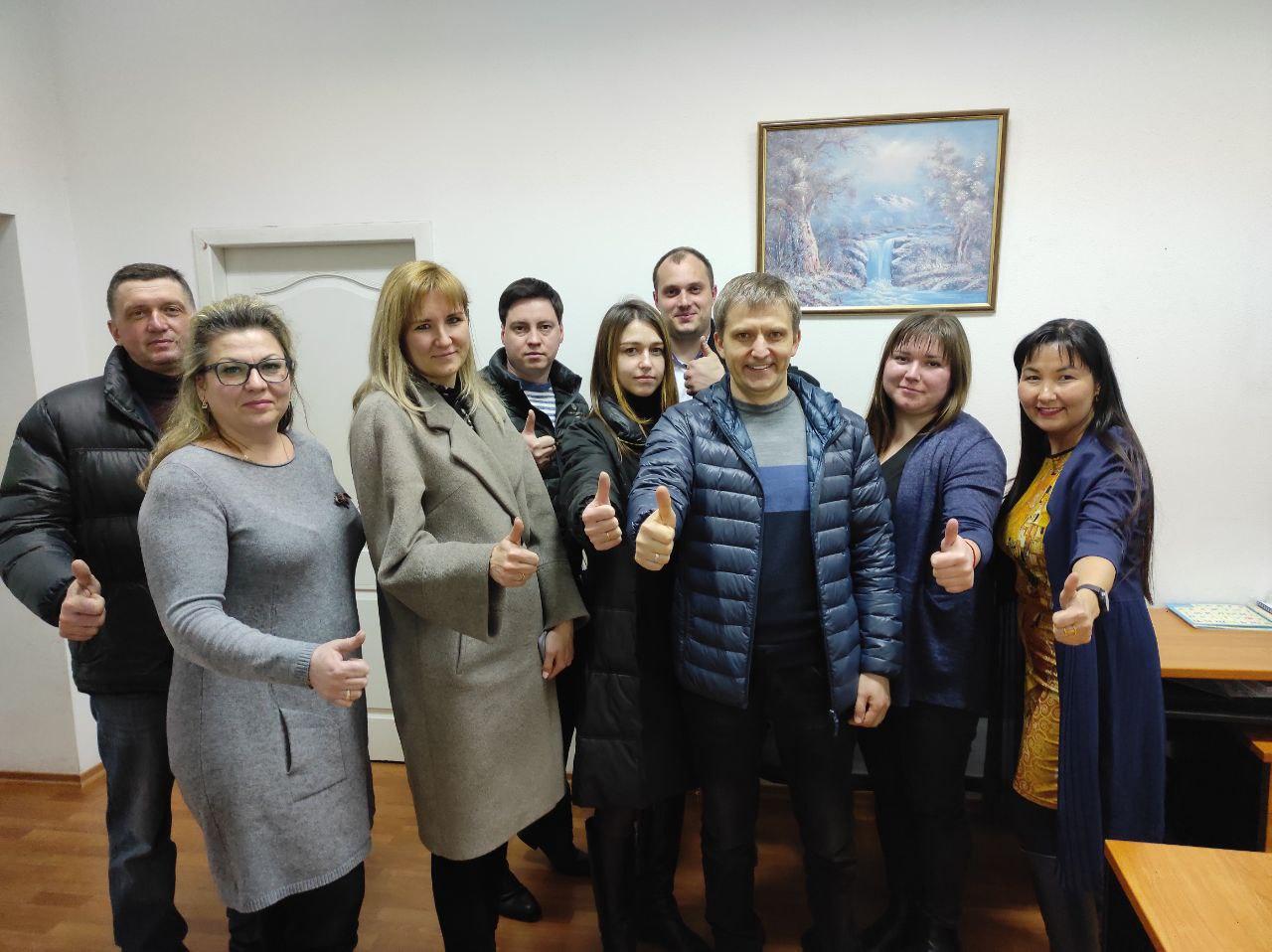 Зустріч фракції з Народним депутатом Сергієм Демченко
